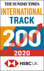 The Sunday Times International Track 200 2019 logo