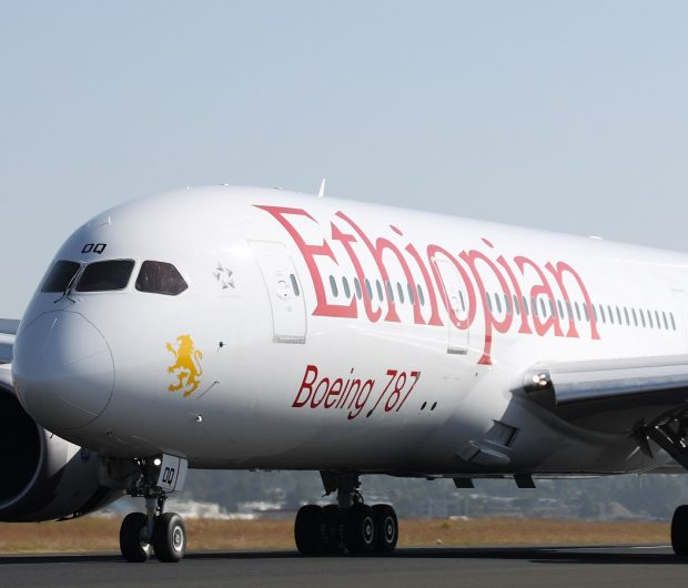 Ethiopian Airlines Boeing 787 Dreamliner Widebody Aircraft