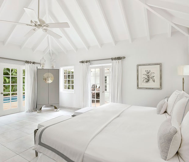CHEVAL BLANC ST-BARTH ISLE DE FRANCE, ST BARTHS bedroom