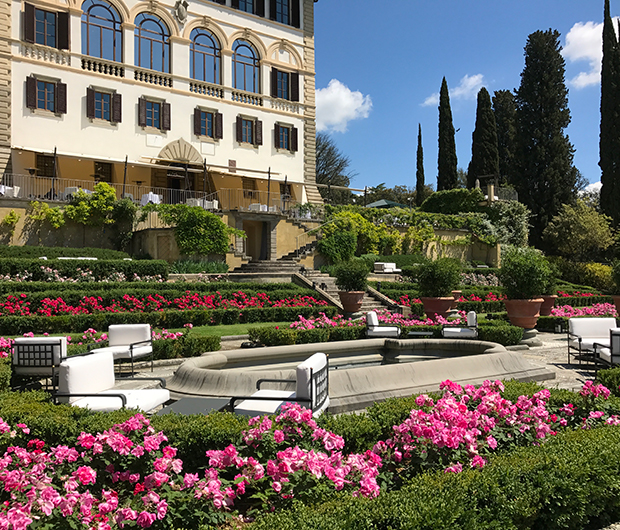 IL SALVIATINO, FLORENCE, ITALY gardens and seating