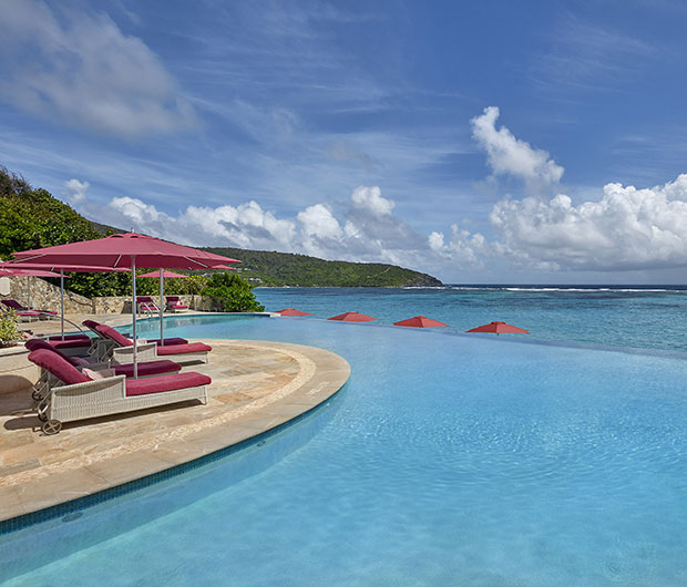 MANDARIN ORIENTAL CANOUAN, ST VINCENT & THE GRENADINES poolside