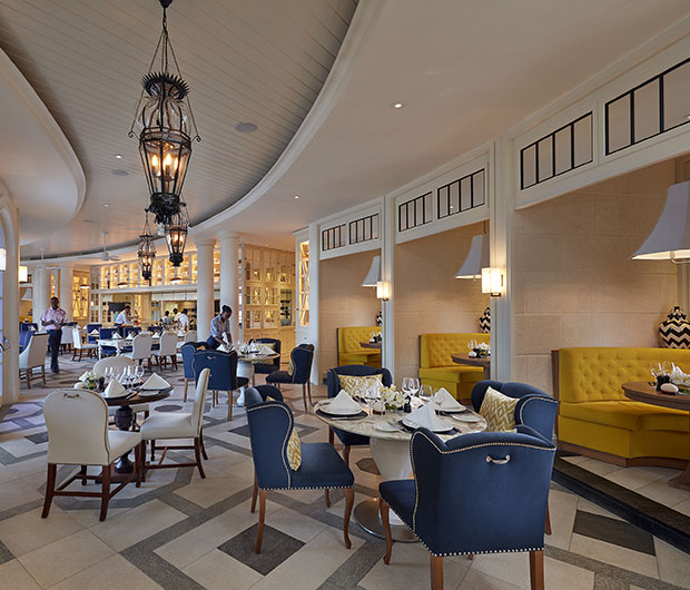 MANDARIN ORIENTAL CANOUAN, ST VINCENT & THE GRENADINES dining area
