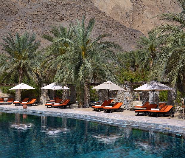 SIX SENSES ZIGHY BAY, OMAN poolside