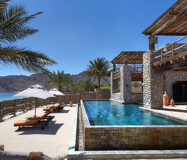 SIX SENSES ZIGHY BAY, OMAN pool