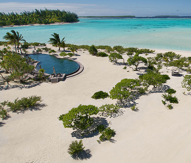 THE BRANDO, TETIAROA, FRENCH POLYNESIA beach and pool