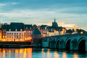 Maastricht River and bridge